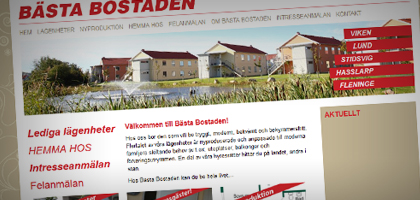 Bästa Bostaden AB - Ocuris - Graphic Design & Web Solutions