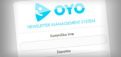 Oyo Newsletter management system - Nova TV d.d.